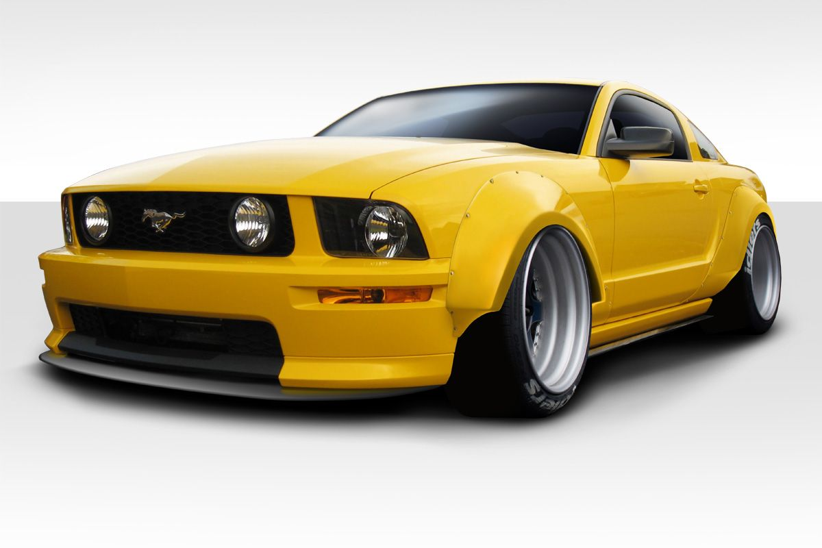 Ford Mustang Duraflex Circuit Wide Body 75MM Fender Flares