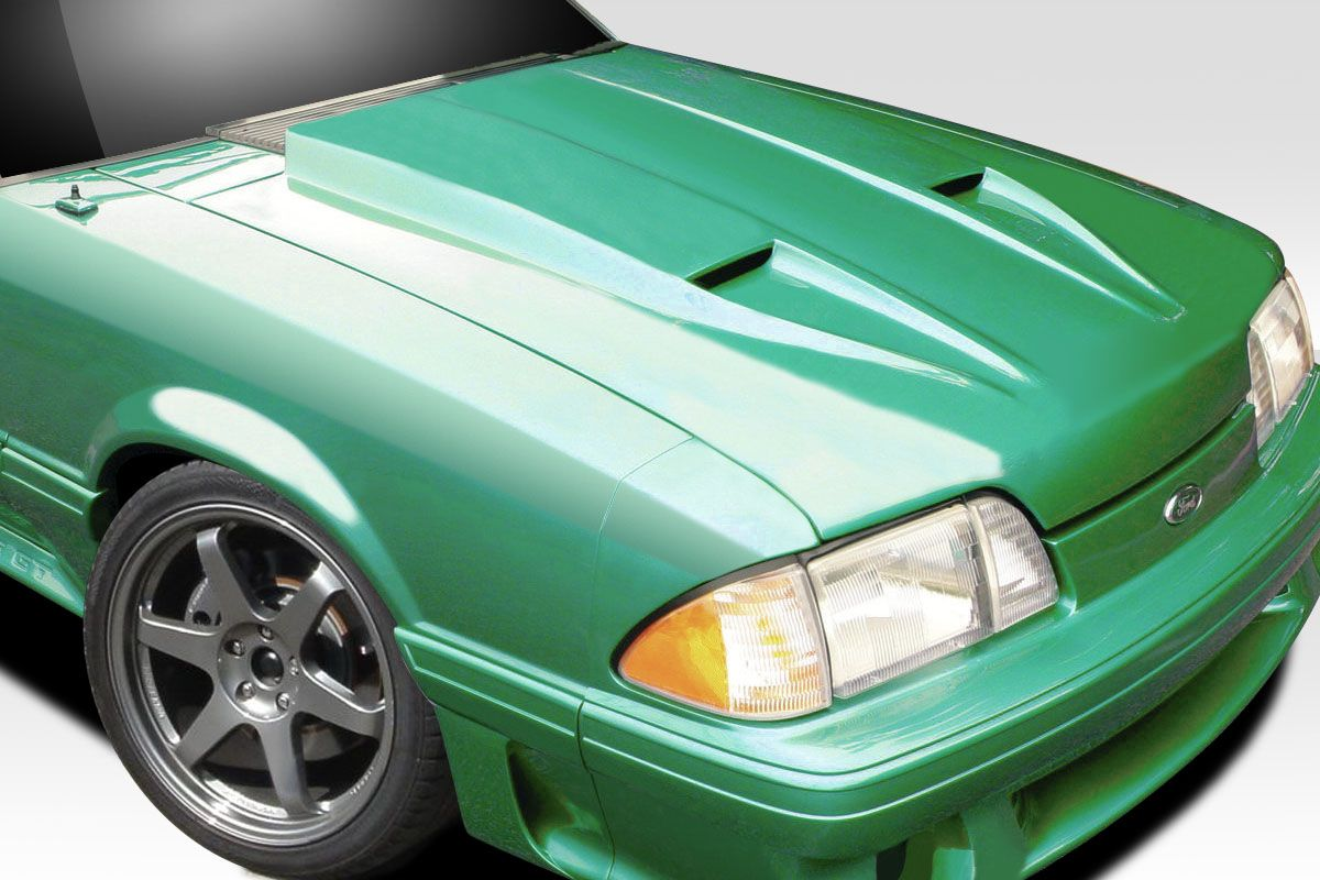 1987-1993 Ford Mustang Duraflex STM Hood