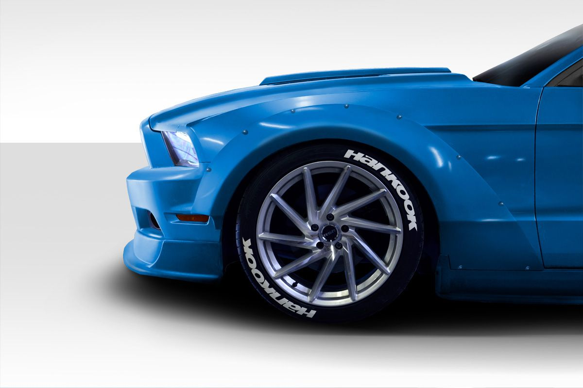 2010-2014 Ford Mustang Wide Body Kit