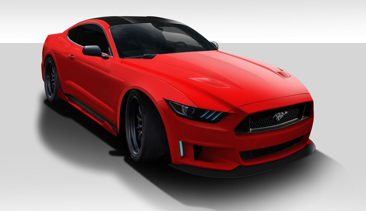 2015-2017 Ford Mustang Grid Body Kit